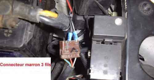 Connecteur motoventilateur